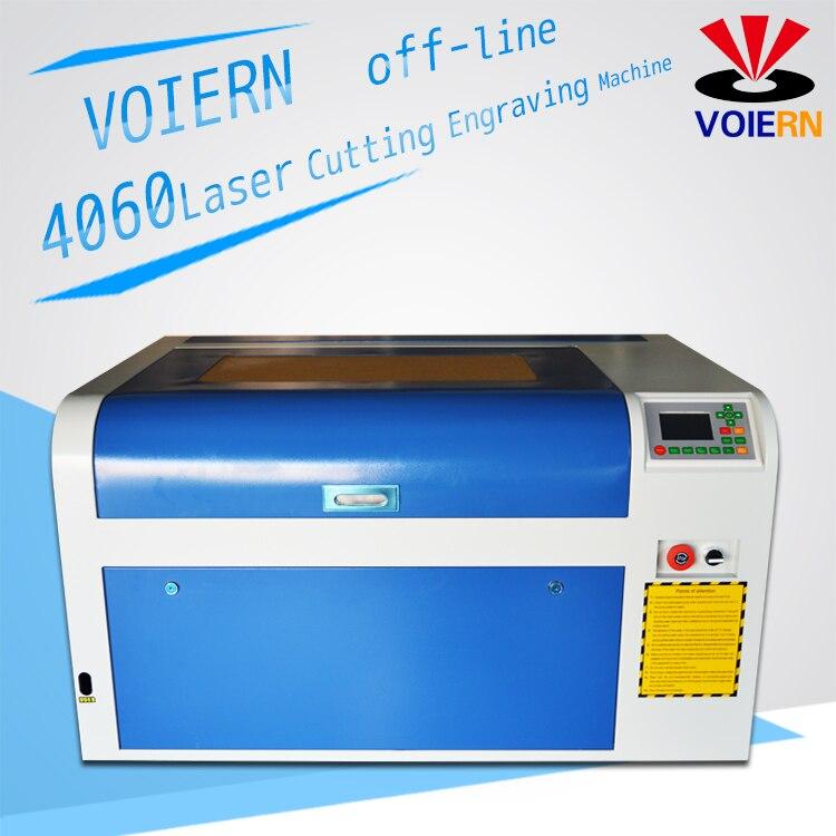Libérez le bateau à Moscou! vente D'usine! 60 W WR4060 M2 co2 laser machine de gravure, 220 v/100 v laser cutter, CNC machine de gravure