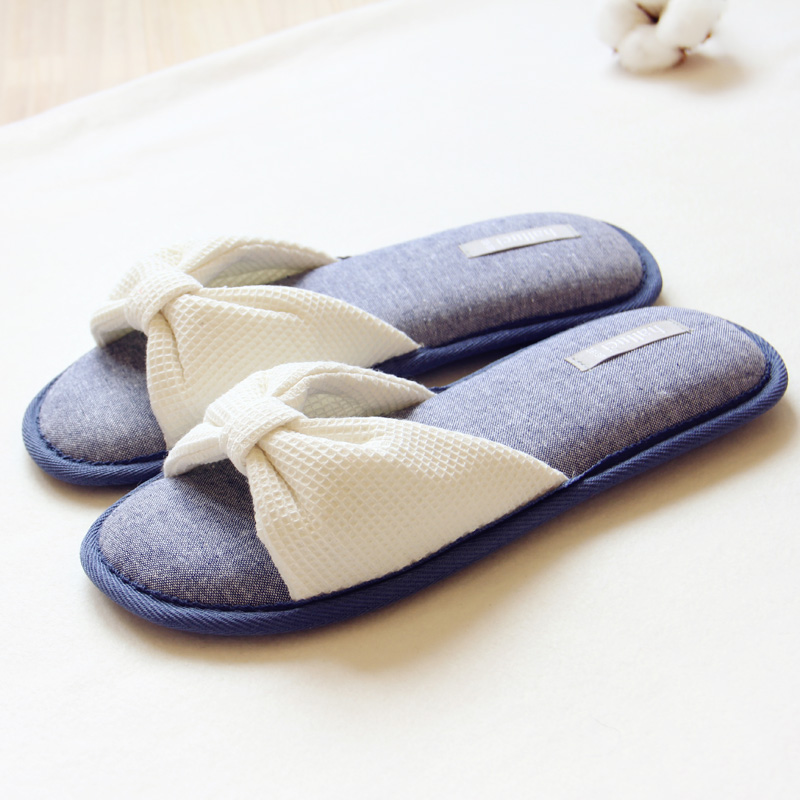 50pcs/lot New Spring Autumn Causal Cotton Slippers Women Sandals Home Slippers Indoor Floor Shoe