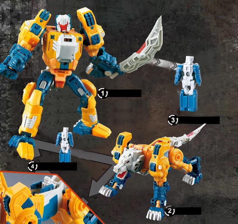 Wei Jiang Transformation 5 Movie Toys SS Anime Action Figures Robot Car KO Aircraft Dinosaur Model Collection