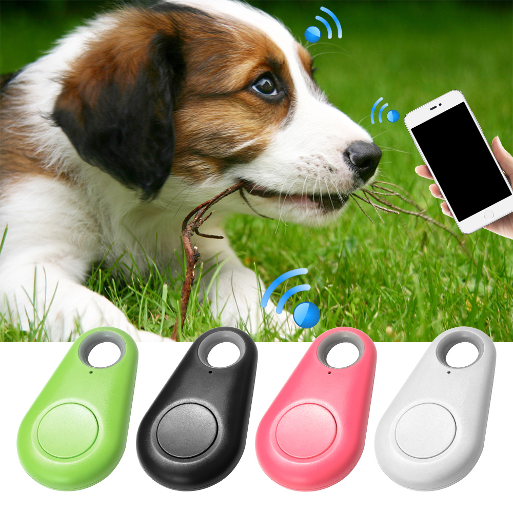 Fuers Pets Smart Mini GPS Tracker Anti-Lost Alarm Waterproof Bluetooth Finder Tracer Child Wallet Keys Kid Bag Locator for Phone(China)