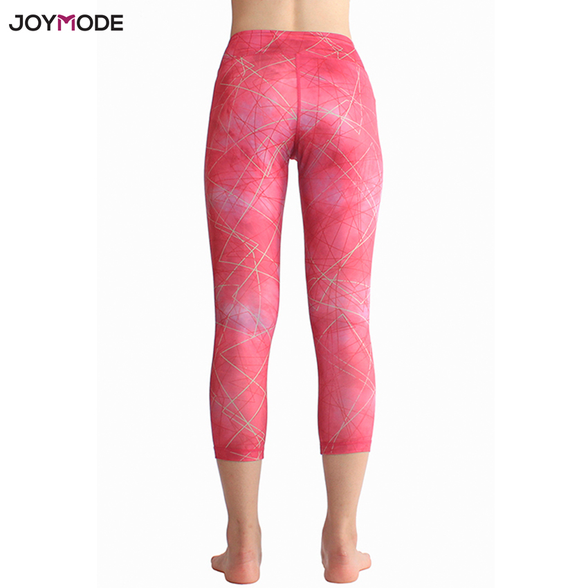 5add17c0d2 JOYMODE 2018 Sexy Training Women s Sports Yoga Pants Leggings Elastic Gym  Fitness Workout Running Tights Compression Trousers