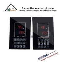 110V 220V30A 6KW sauna room Heat Controller thermostat for Khan steam room
