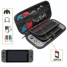 Прочный чехол для переноски в путешествии, совместимый с NS Zend Switch, аксессуары, защитный жесткий чехол, переносная сумка для консоли переключателя