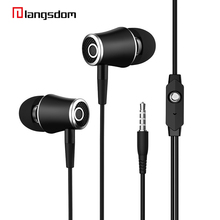 In-Ear Earphones line Control Stereo Sound Earbuds With Mic Earphones For iPhone Mobile Phone MP3 MP4