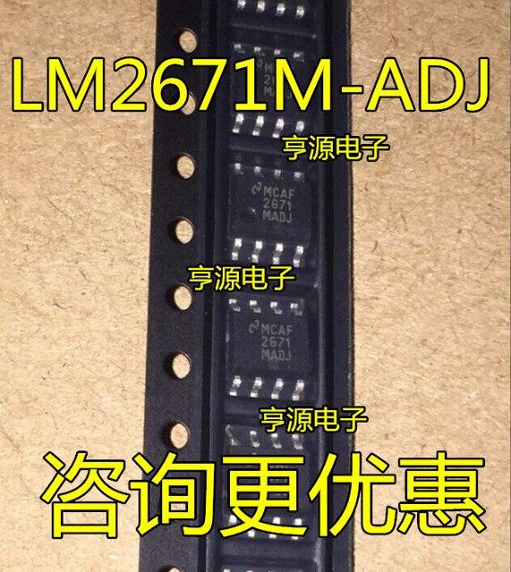 Régulateurs de commutation LM2671 LM2671MX-ADJ 2671M-ADJ LM2671M-ADJ