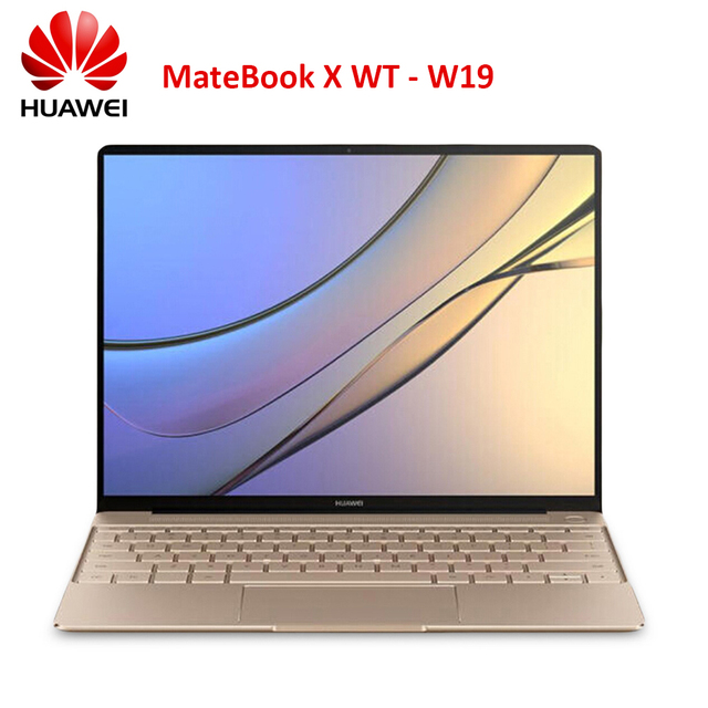 "HUAWEI MateBook X 13"" Notebook Windows 10 Intel Core 8GB RAM 512GB SSD Fingerprint 1.0MP Camera Laptop HDMI Output"
