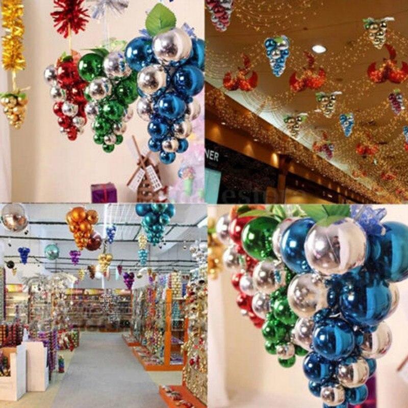 Creative Christmas Ball DIY Christmas Tree Decoration Ball Party Wedding Hanging Ornament ...