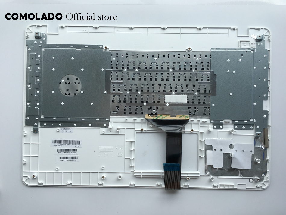 SW Swiss keyboard For ASUS A751 X751LD k750j K751L X751 R752 R752L Top Cover Upper Case Palmrest keyboard SW Layout