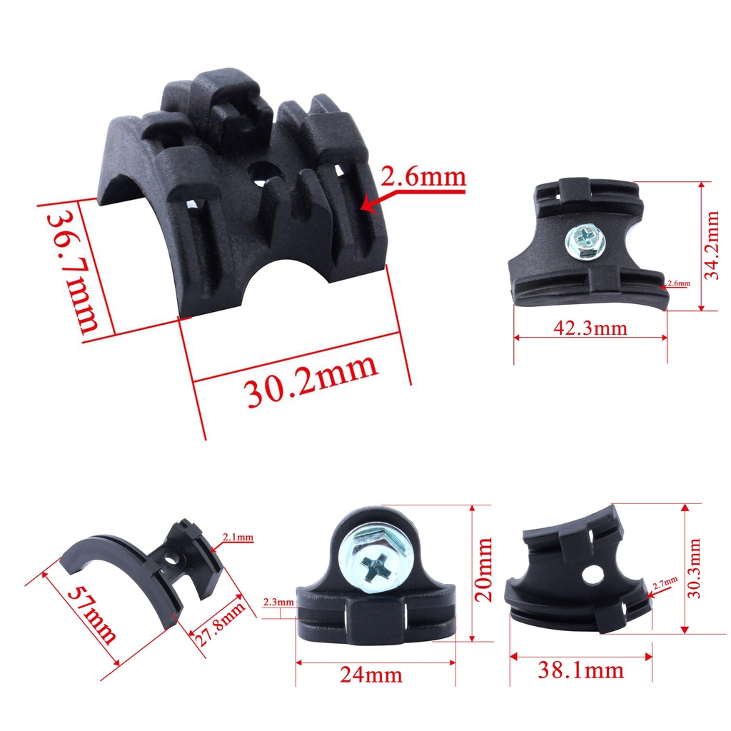 BOTTOM BRACKET CABLE HOLDER GUIDE BIKE FRAME HOUSING BICYCLE SHIFT MTB ROAD