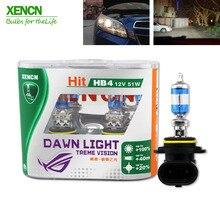 XENCN супер яркий рассвет светильник автомобильные галогенные лампы головного светильник s 12V H1 H4 H7 H11 9005 9006 HB3 HB4 9012 H1R2 3800K