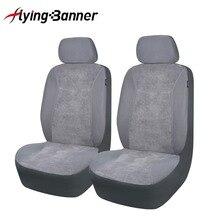 2020 Mode 2 Voorste Auto Bekleding Comfortabele Corduroy Covers Voor Stoelen Interieur Auto Accessoires Beide Side Airbag Compatibel