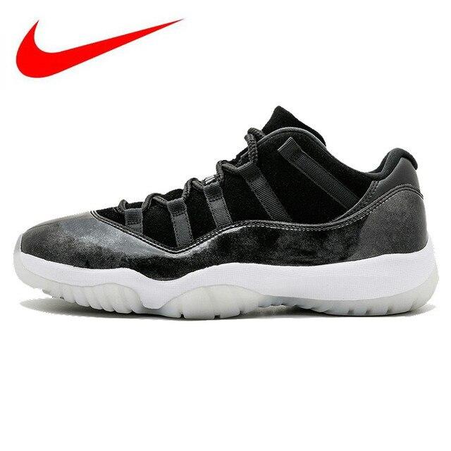 Original Nike Air Jordan 11 Retro Low Men S Basketball Shoes Dark