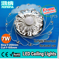 10pcs Lot Free Shipping 1W LED Cabinet Light Hotel Ceiling Light LED Chip Epistar LED Ceiling