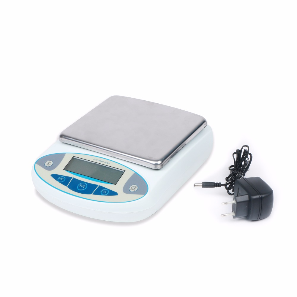 5000 x 0.01 g 10 mg Analytical Balance Lab laboratory Digital Electronic Precision Scale