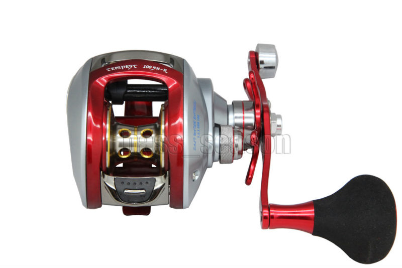 KOREA RED COLOR 6BB 7:1 Baitcasting Reel Fishing Reel Casting Reels Anti-Saltwater Free Shipping