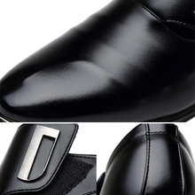 2018 Men's British Style Faux Leather  Formal Dress  Shoes