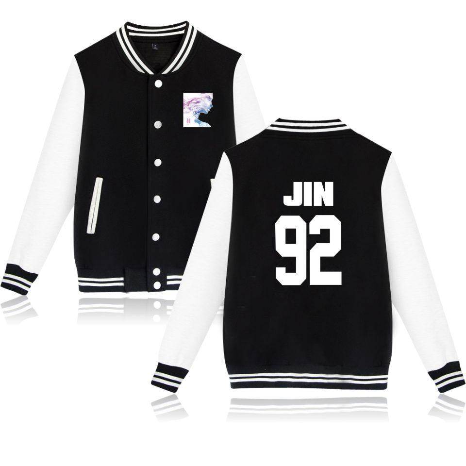 BTS Jacket Bangtan Boy Cool And Fashion Casual Women/men Winter Women K-pop Hip Hop Female Baseball Jacket Clothes XXS To 4XL