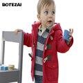 Мальчики Дети Верхняя Одежда пальто Мода дети куртки для Мальчика Зимняя куртка Теплая Дети с капюшоном Дети Толстовки мальчиков Одежда