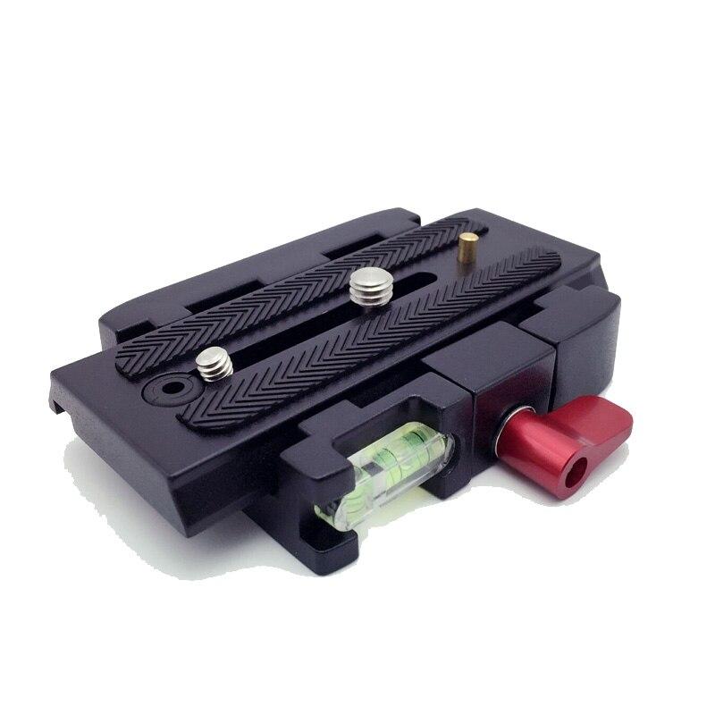 Caméra Trépied Monopode P200 QR En Alliage D'aluminium Pince Adaptateur + Plateau Rapide pour Manfrotto 501 500AH 701HDV 503HDV Q5