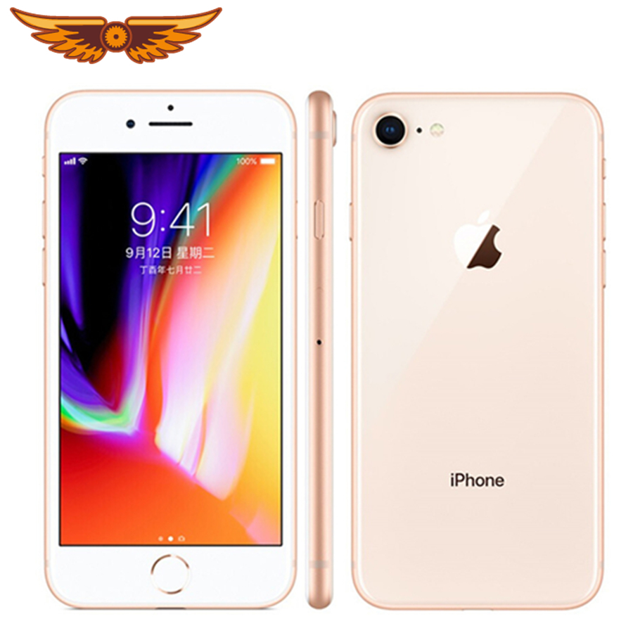 Original Unlocked Apple IPhone 8 LTE Mobile Phone 256G/64G ROM 3GB RAM Hexa Core 12.0MP 5.5