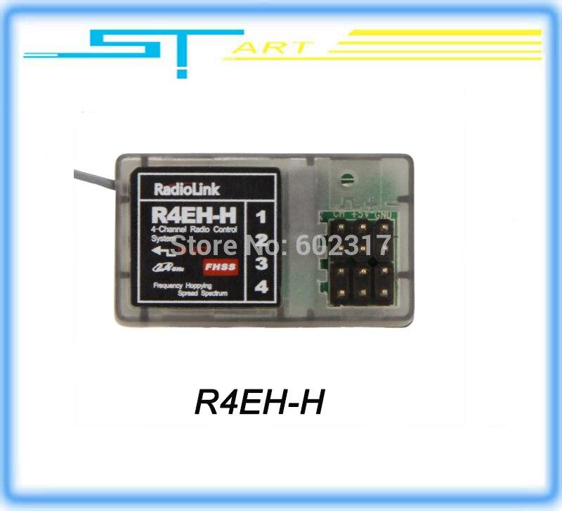 RadioLink 2.4 GHz 4CH Haute Tension R4EH-H R4EH-G 260 Mètre 2.4 ghz Récepteur R4EH pour Radiolink RC3S TX rc voiture bateau jouets