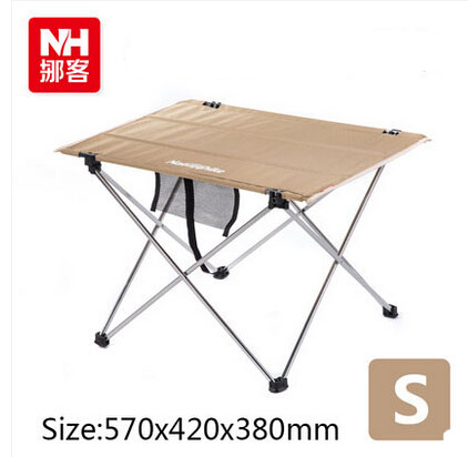 Amazing Naturehike Portable Small Strong Folding Table Outdoor Camping Barbecue Picnic  Table With Carry Bag Free Shipping