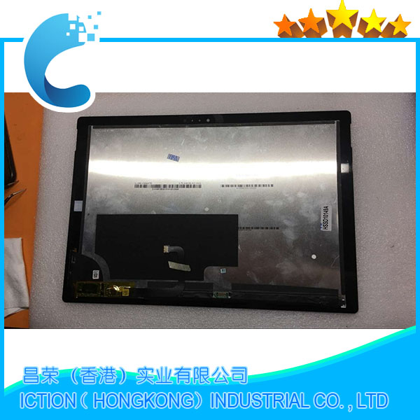 Image 5 - Original 1631 Full LCD Assembly Pro 3 For Microsoft Surface Pro 3 (1631) lcd display touch screen digitizer Assembly-in Tablet LCDs & Panels from Computer & Office