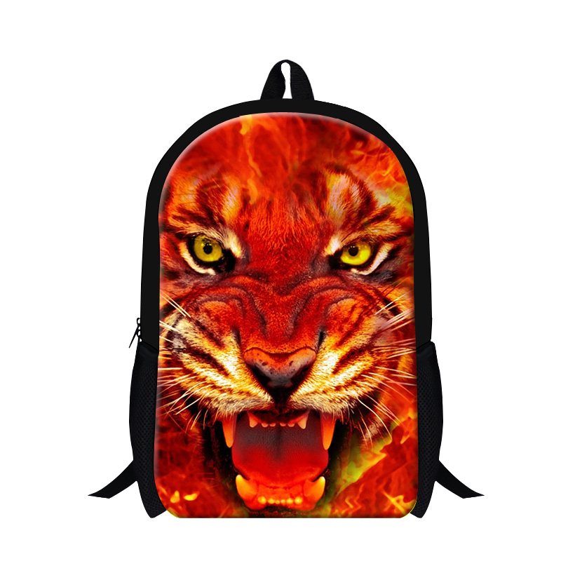 Bagpack Cool Tiger 3D pattern backpacks for teen boys,school bags for teenagers childrens shoulder bookbags,day pack for guy