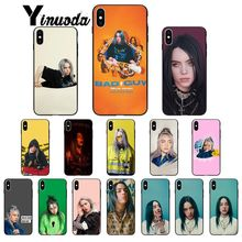 Yinuoda bad guy billie eilish Colorful Cute Phone Accessories Case for iPhone 5 5Sx 6 7 7plus 8 8Plus X XS MAX XR