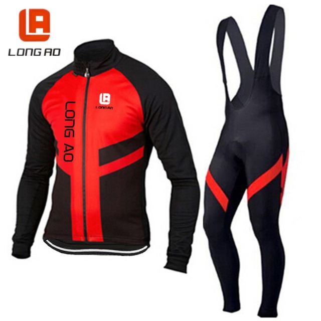 Ropa Ciclismo Cycling Jersey Long Sleeve Autumn Winter Racing Bike Cube Cycling Clothing MTB Cycle Clothes Wear Sportswear