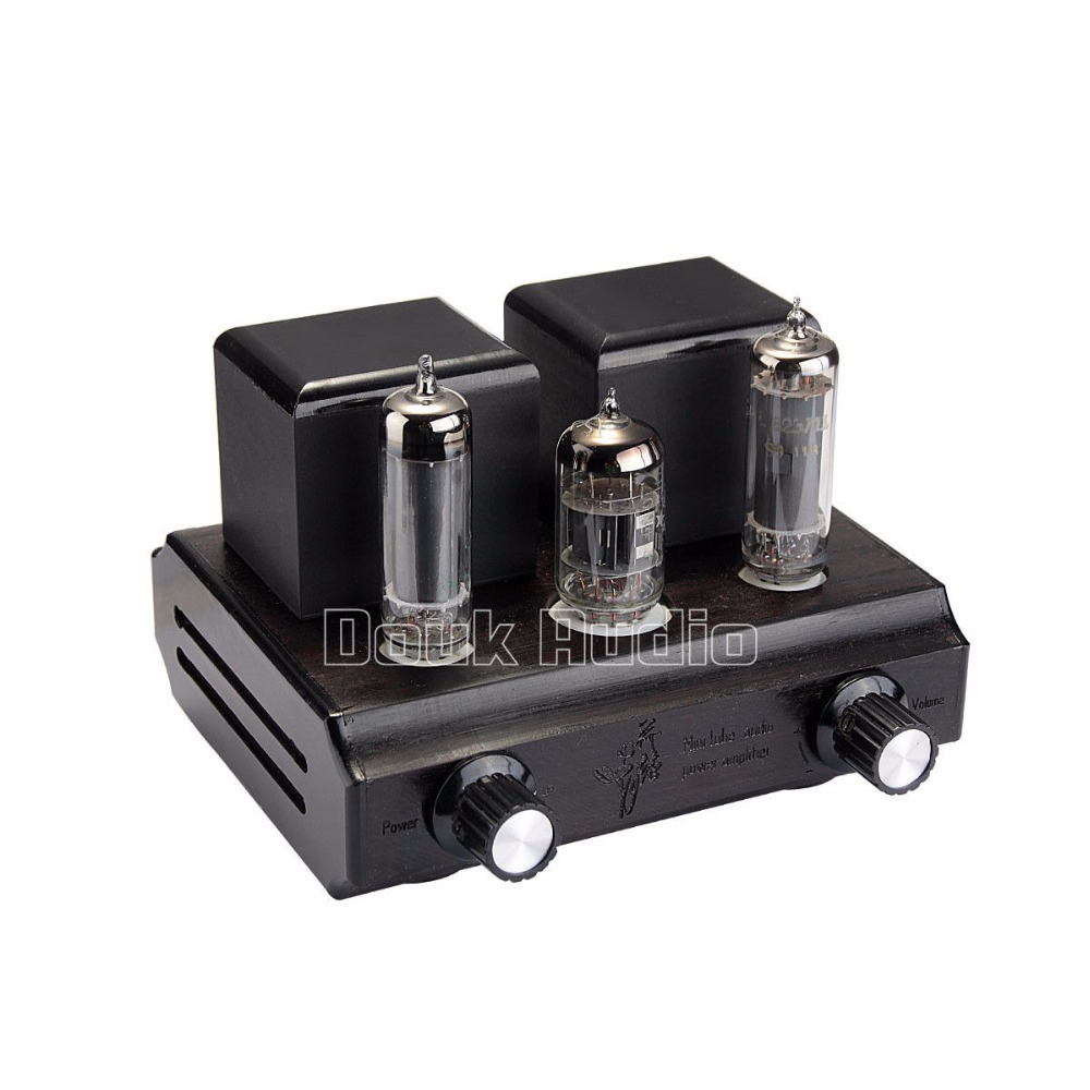 Douk Audio Mini Vacuum&Valve Single-Ended Class A Tube Amplifier Stereo Desktop Power Amp 2.5W*2 Pure Handmade music hall latest 12ax7 vacuum tube pre amplifier hifi stereo valve pre amp audio processor pure handmade
