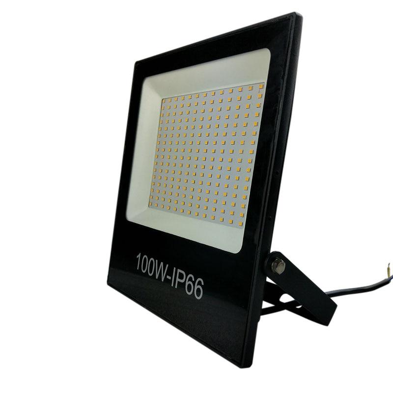 LED Flood Light IP65 WaterProof 30W 50W 100W 220V 230V Flood Light Spotlight Outdoor Wall Lamp Garden Projector