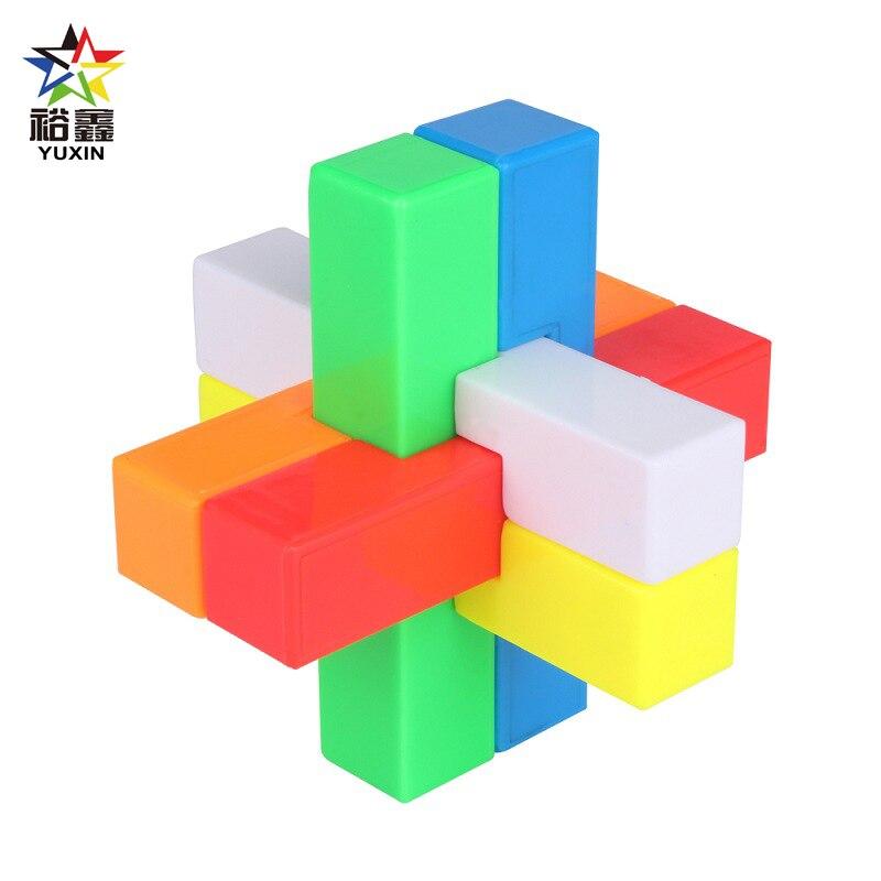 YUXIN Kongming Luban Lock I Kids Children Brain Teaser Games 3D Intellectual Creative Unlock Puzzle Cube Toy(China)