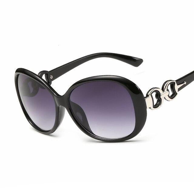d96dfb3c5 Hindfield ماركة مصمم النظارات النساء نظارات داكنة في الملحقات النظارات كبيرة  الحجم نظارات ظلال