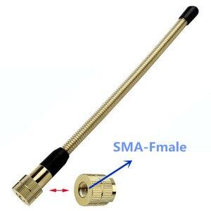 Image 5 - Золотая двухсегментная мягкая антенна 144 МГц для TYT: SMA M UV8R UVF9 UVF9D UVF8D F8 ecc