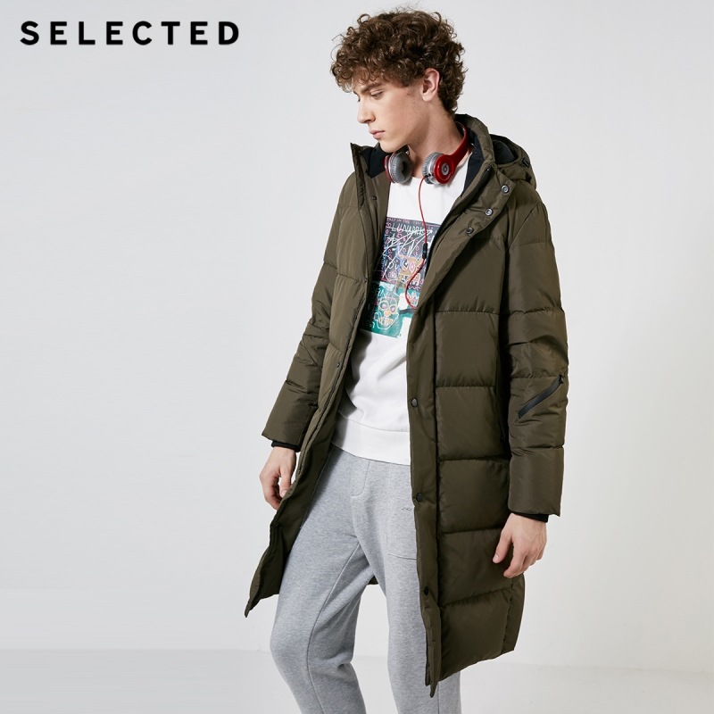 Image 3 - SELECTED New Winter Down Jacket Men's Water proof Outwear Warm Clothes Down Coat Suit S  418412529-in Down Jackets from Men's Clothing