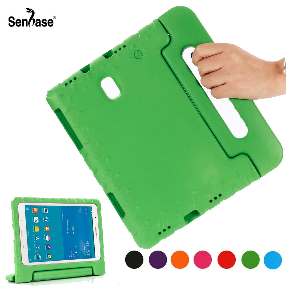 EVA Portable Handle Stand Kids Safe Foam Shockproof Cover For Samsung Galaxy Tab A 10.5 inch <font><b>SM</b></font> <font><b>T590</b></font> T595 Protection <font><b>Case</b></font> image