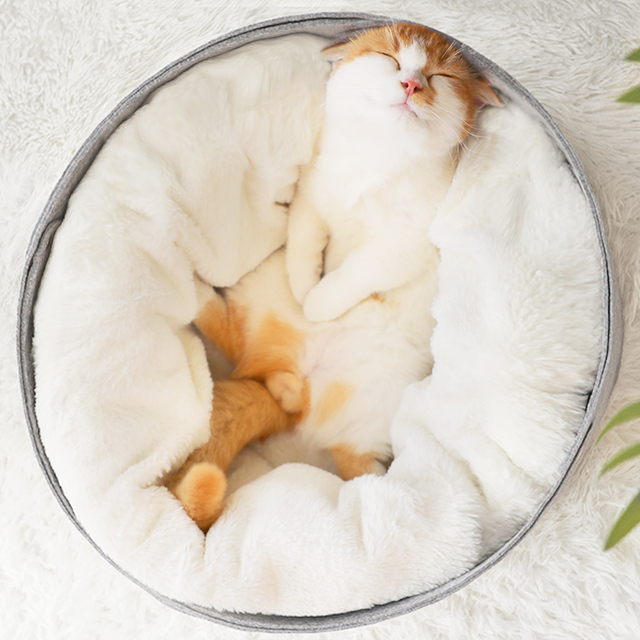 Mäkký pelech pre mačku alebo psa Soft Bed for Cat or Dog
