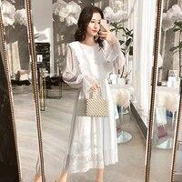 Воздушное платье  Цена: 960 руб. (14.69$) | 7 заказа(ов)  Купить:     ???? Очень женственная модель с рюшами на груди и широкими воланами на рукавах. Линия талии обозначена резинкой. На мне платье в максимальном размере xl. По груди и плечам хорошо, но, ли