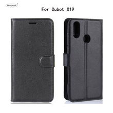 HUDOSSEN For Cubot X19 Case Luxury Phone Protective Case Coque For Cubot X19 Flip Cover Wallet PU Leather Bags стоимость