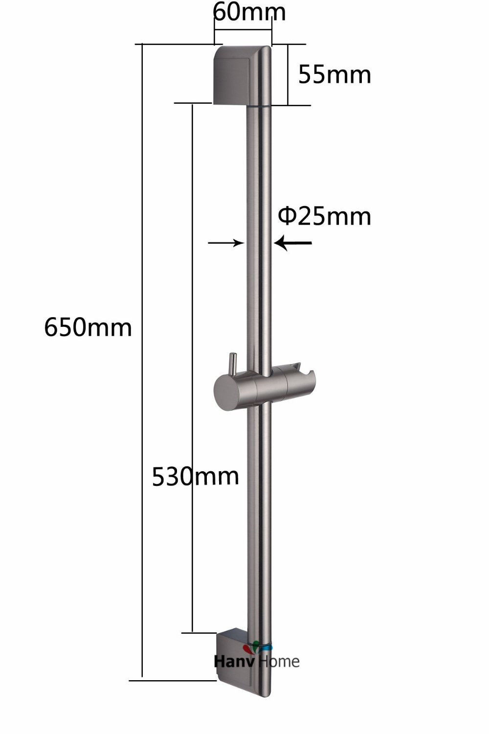 buy stainless steel shower riser rail sliding
