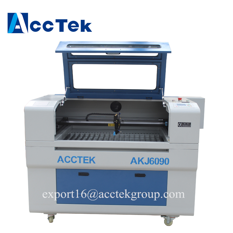 Factory supply Wood Fabric Acrylic Leather MDF Plywood CNC CO2 laser cutting machine good price , supply oversea after service
