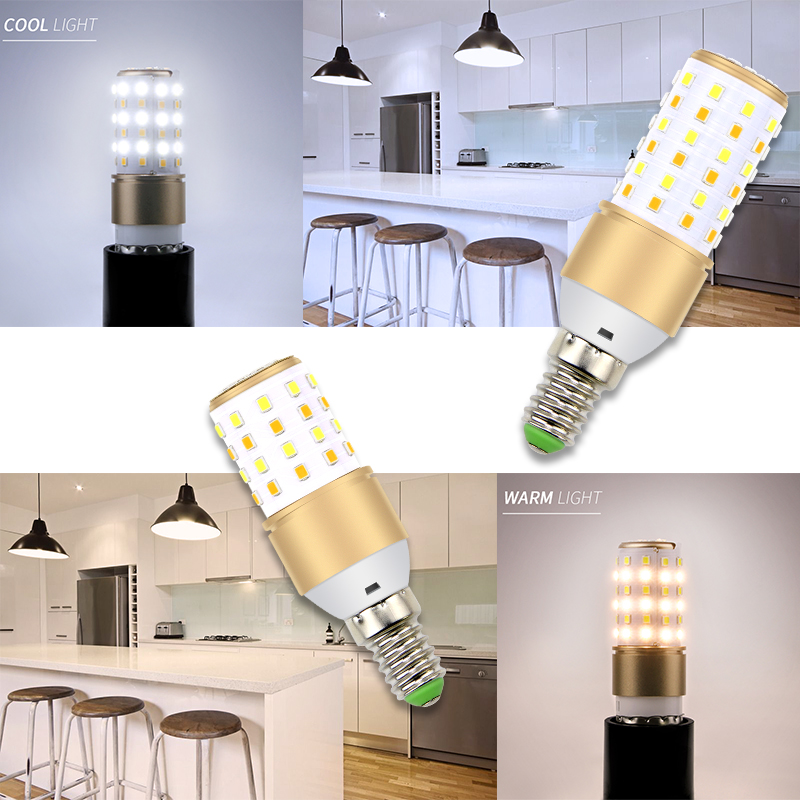CanLing E27 LED Lamp 220V Corn Light E14 Bombillas Led 3W Candle Bulb 110V Lampada 5W 7W No Flicker Ampoule