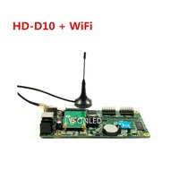 Huidu HD D10F HD D10 WiFi Asynchronous 4xHUB75 Ports RGB Full Color WIFI LED Display Controller