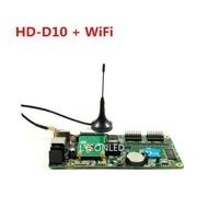 Huidu HD D10F HD D10 WiFi Asynchronous 4xHUB75 Ports RGB Full Color WIFI LED Display Controller