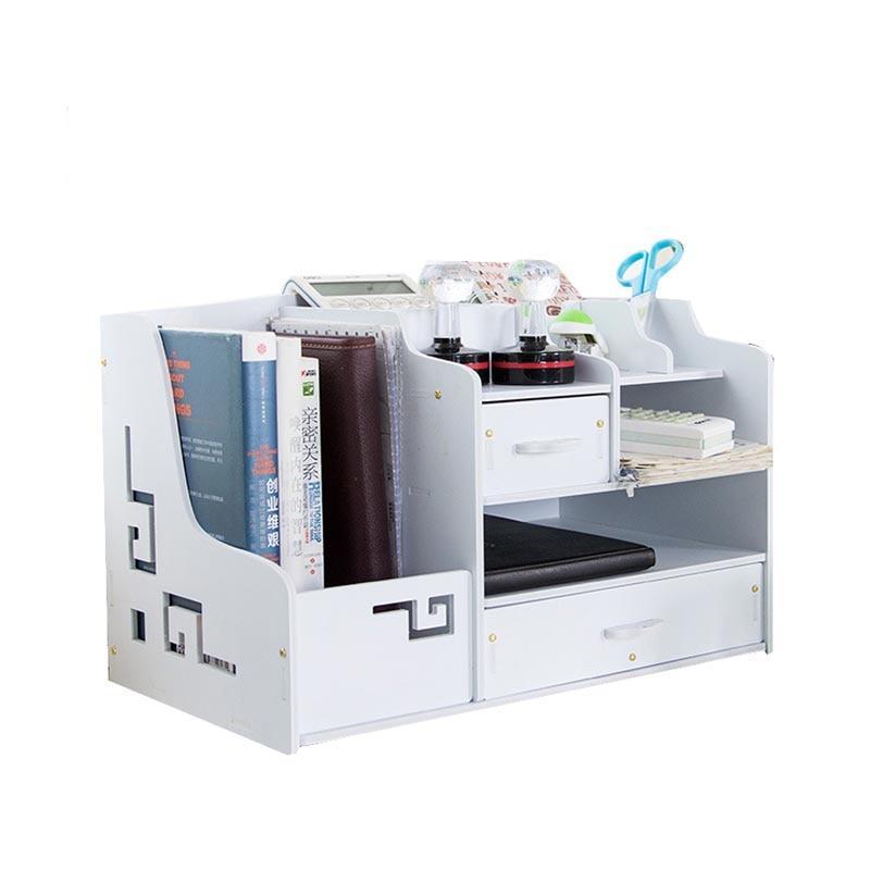 File Cabinet Office Desk Decoration Office Filing Cabinets Desk Sets Multifunctional Organizer Holder Storage Box Joy Corner