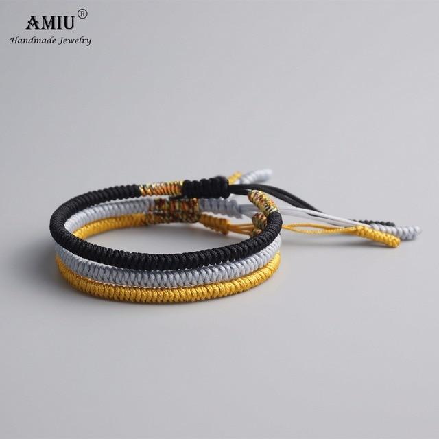 AMIU Multi Color Tibetan Buddhist Good Lucky Charm Tibetan Bracelets & Bangles 1