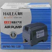 90W 120L Min Hailea HAP 120 Hiblow Diaphragm Air Pump For Aquarium Fish Septic Tank Air