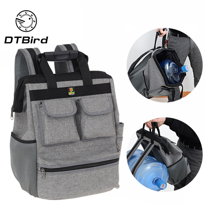 Multifunction Tool Backpack Waterproof Tool Bags Elevator Maintenance Backpack Hardware Toolkit Oxford Cloth Toolkit
