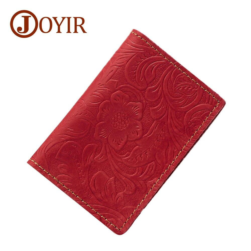 Vintage Men Genuine Leather Card Holder Floral Credit Card Holder Case Id  Cardholder Wallet Male License Holder